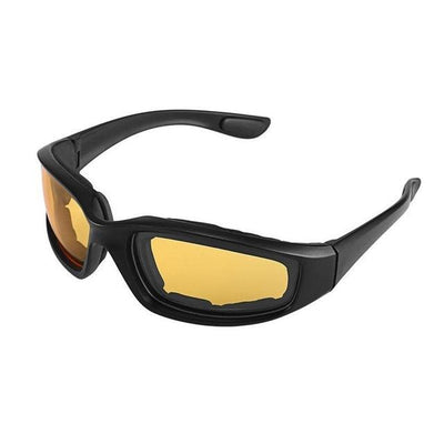 Anti-Glare Motorcycle Glasses - Yellow