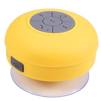 Waterproof Bluetooth Shower Speaker - Yellow