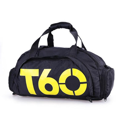 Waterproof Men Gym Bag - Yellow