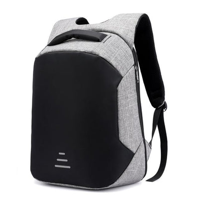 USB Charging Backpack - Gray