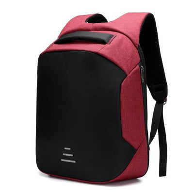 USB Charging Backpack - Hot Pink