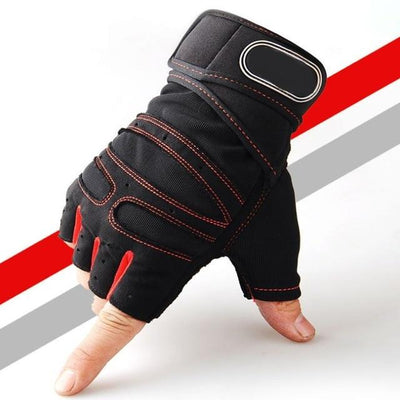 Gym Gloves - Red / M