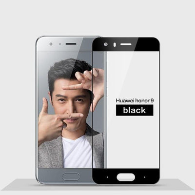 2.5D 9H Screen Protector For Huawei Honor 9 - Black
