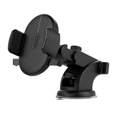 Adjustable Car Mount Phone Holder - Black