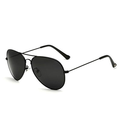 Unisex Polarized Sunglasses - Black