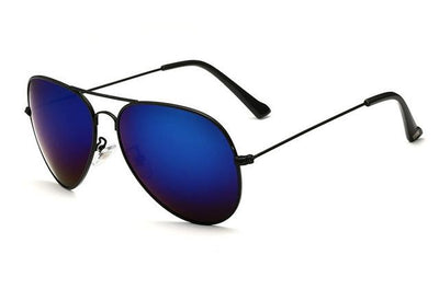Unisex Polarized Sunglasses - Dark Blue