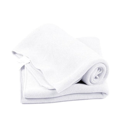 Soft Microfiber Towel Cloth - White / one