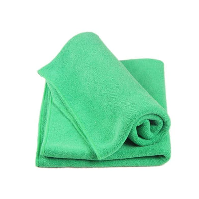 Soft Microfiber Towel Cloth - Green / one
