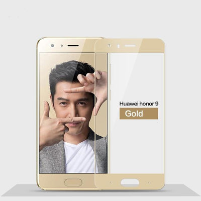 2.5D 9H Screen Protector For Huawei Honor 9 - Gold