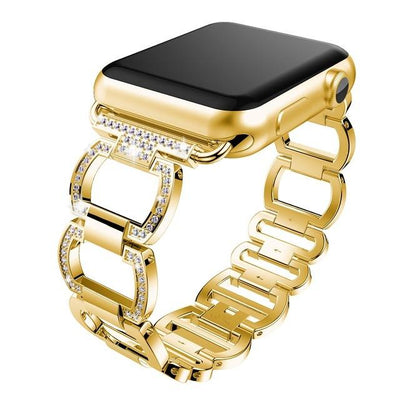 38mm/42mm  Rhinestone Diamond Apple Watch Band - gold / 38mm