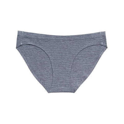 Soft Breathable Brief Set - Line Blue / S