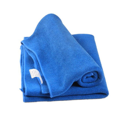 Soft Microfiber Towel Cloth - Blue / one