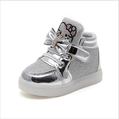 Children's Fashionable Luminous Sneakers - photo color2 / 5.5