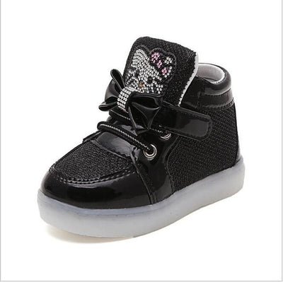 Children's Fashionable Luminous Sneakers - photo color3 / 5.5