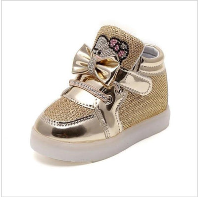 Children's Fashionable Luminous Sneakers - photo color4 / 5.5