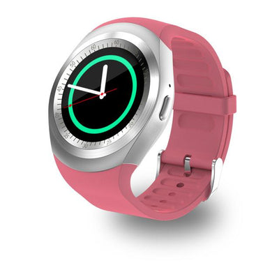 Bluetooth Smart Watch - Pink / Standard