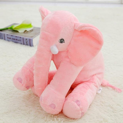 Plush Stuffed Elephant Toy - Pink
