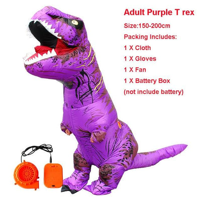 Inflatable Adult Dinosaur Costume