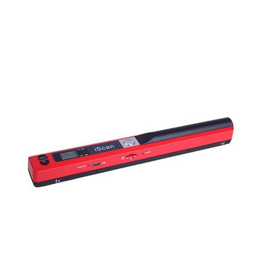 Handheld Portable Document Scanner - Red