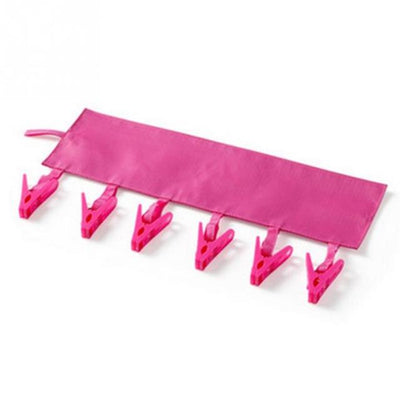 Foldable Travel Hanger - rose red