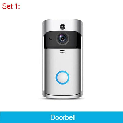 Smart WIFI Wireless Doorbell Video Camera - Set_1