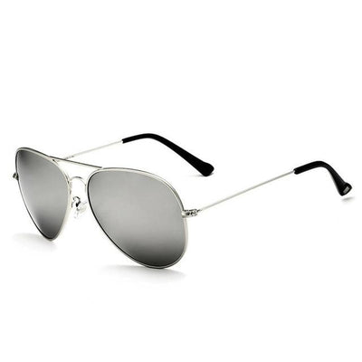 Unisex Polarized Sunglasses - Silver