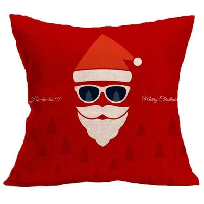 Christmas Themed Pillow Cover - type 1 / 45x45cm