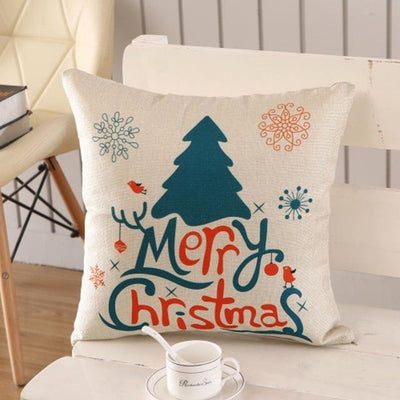 Christmas Themed Pillow Cover - type 20 / 45x45cm