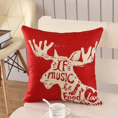 Christmas Themed Pillow Cover - type 24 / 45x45cm