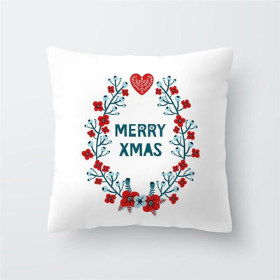 Christmas Themed Pillow Cover