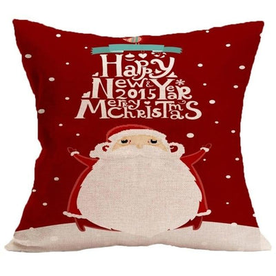 Christmas Themed Pillow Cover - type 3 / 45x45cm