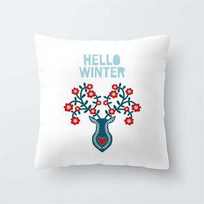 Christmas Themed Pillow Cover - type 40 / 45x45cm