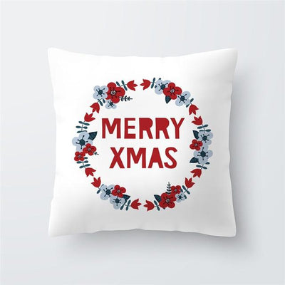 Christmas Themed Pillow Cover - type 41 / 45x45cm