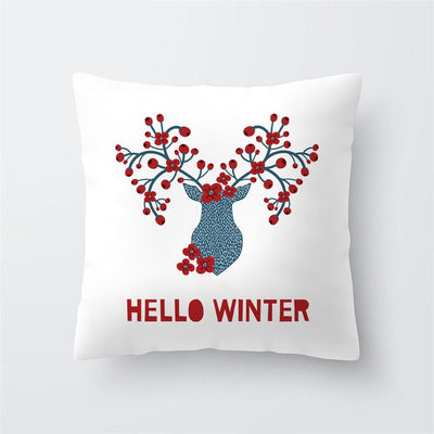 Christmas Themed Pillow Cover - type 43 / 45x45cm