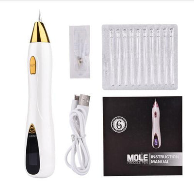 Mole Tattoo Freckle Removal Laser Pen - Gold