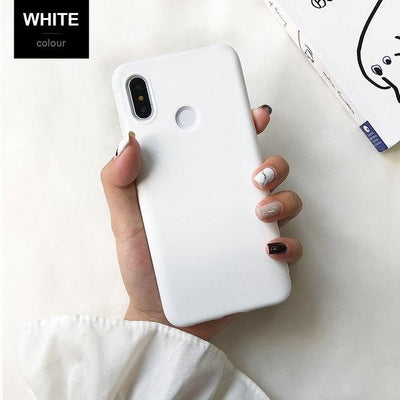 Durable Protection Silicone Case - Note 5x / white