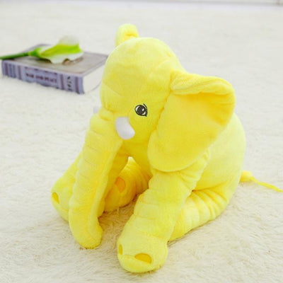 Plush Stuffed Elephant Toy - Yellow