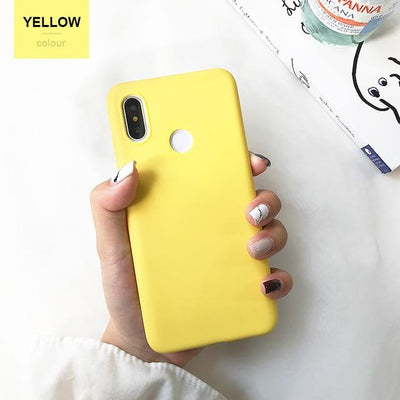 Durable Protection Silicone Case - Note 5x / yellow