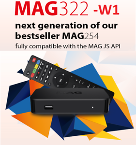 Open Box Iptv-Set-Top Box MAG322-W1