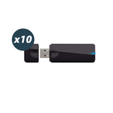 Dual Band 5G 2.4G 600Mbps WiFi USB Dongle Stick Adapter for MAG 254 256 322