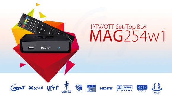 Iptv-Set-Top Box  MAG254-W1