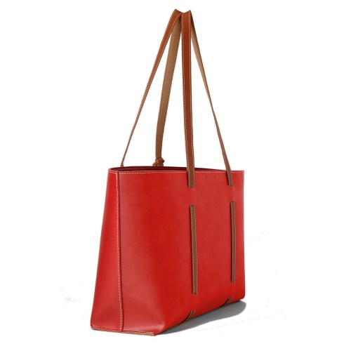 David Isaac Red-Red Handbag