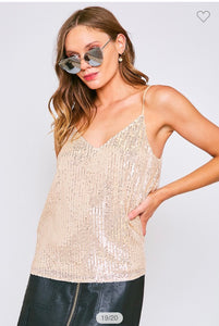 Tania Sequin Top