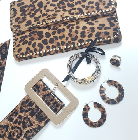 Animal Print Fashion Belt