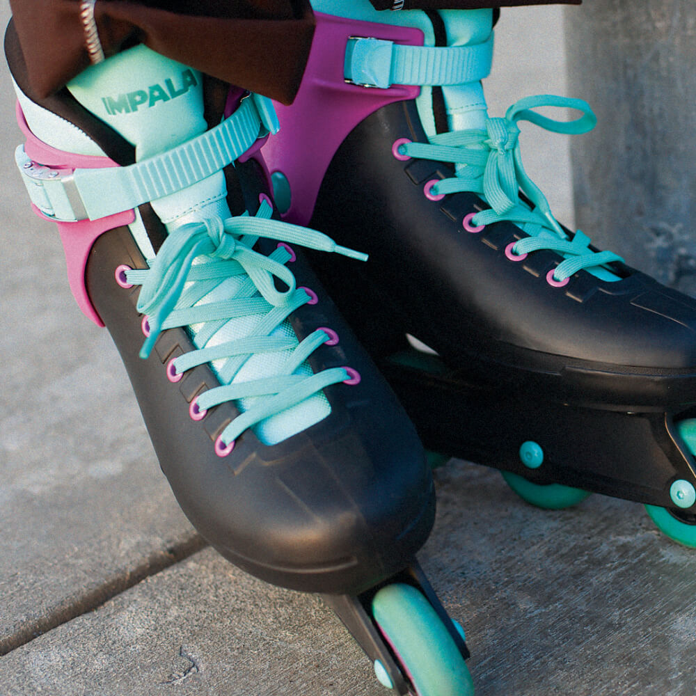 Impala Inline Skates in Black/Berry