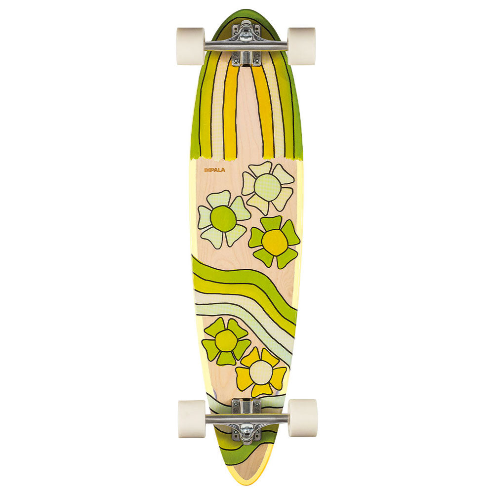 Impala Jupiter Longboard in Birdy Floral colorway