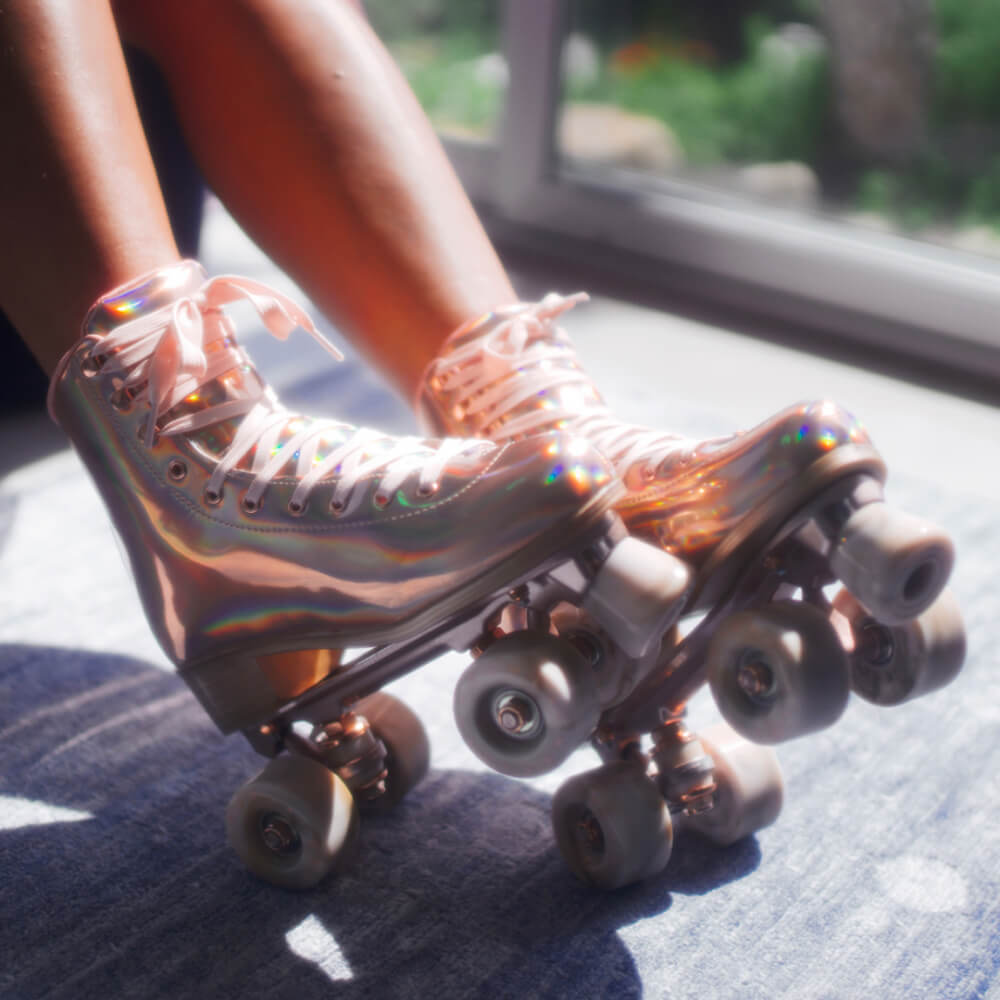 Impala Roller Skates in Marawa Rose Gold