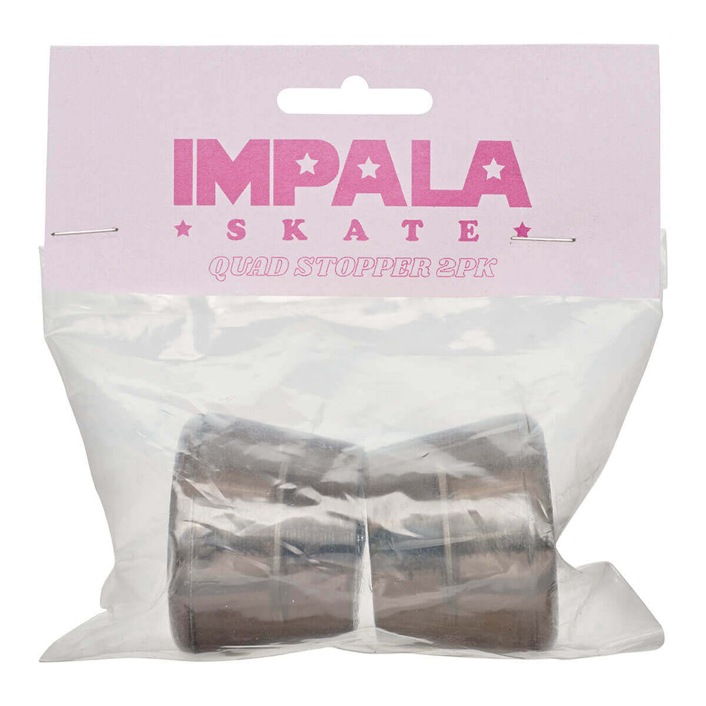 Impala Stoppers 2 PACK STOPPERS - BLACK in Black