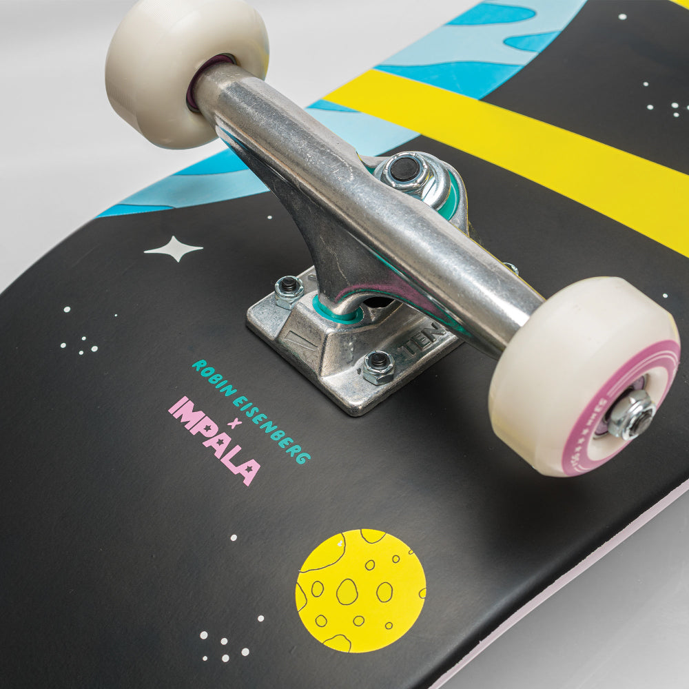 "Impala Saturn Skateboard 8.25"" in Robin Eisenberg Space"