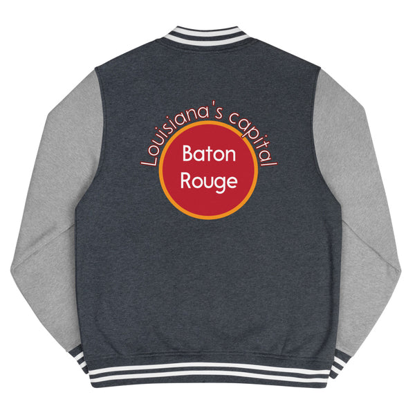 Baton Rouge, Louisiana's Capital Men's Letterman Jacket